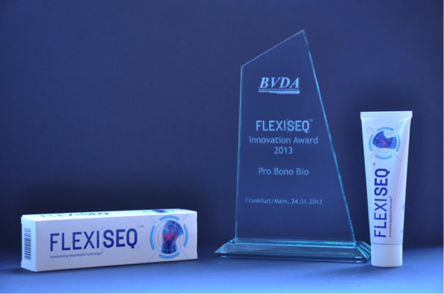 FLEXISEQ Wins BVDA Innovation of 2013 Award