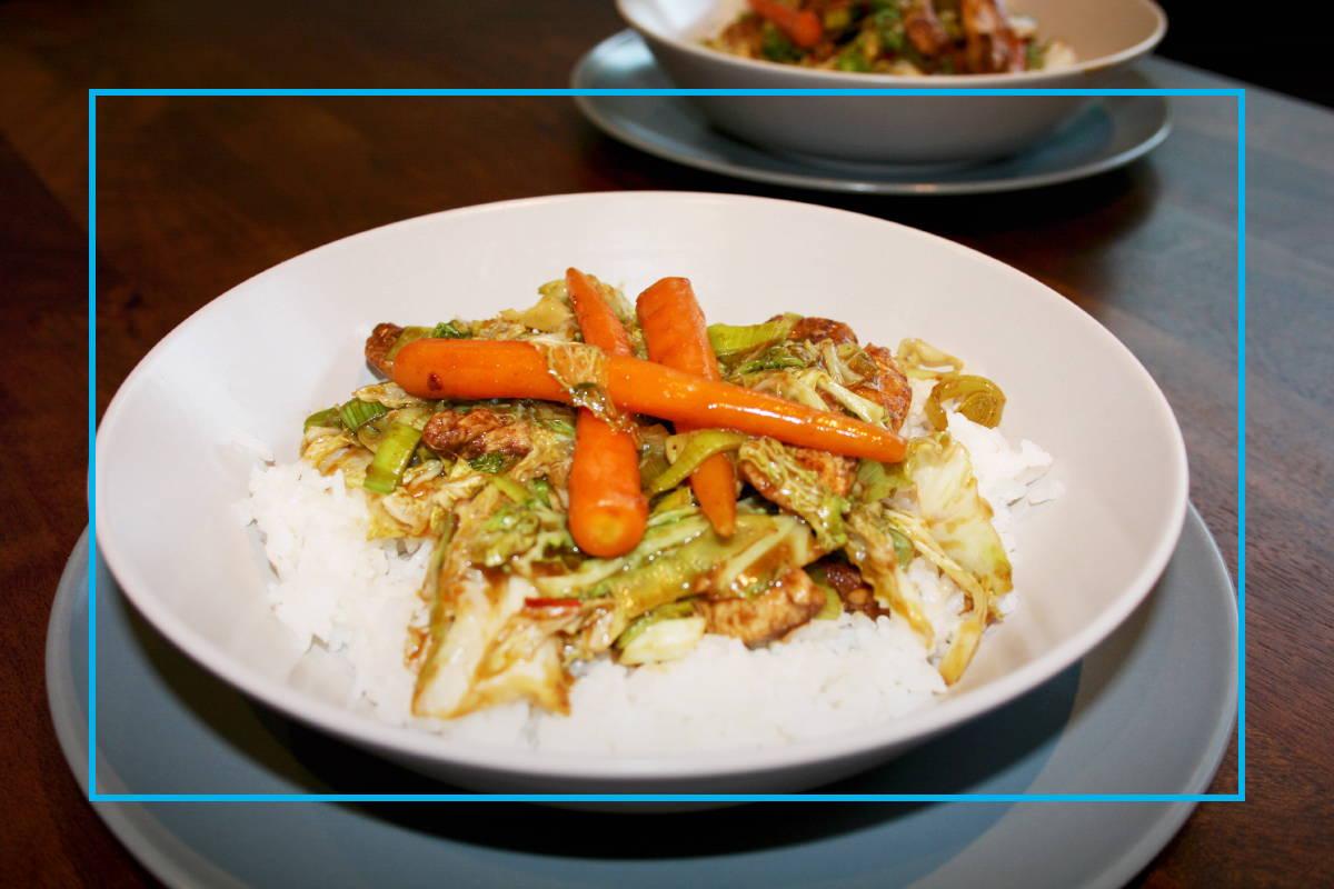Cabbage & Five Spice Chicken Stir Fry