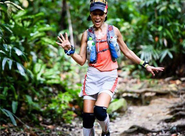 Angelina Then, 50 Ultra Marathoner