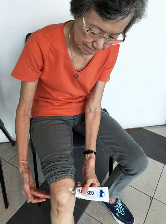 -  Mdm Chua Gek Lan, 69